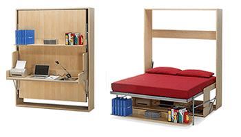 dise ar y hacer construir muebles plegables para viviendas