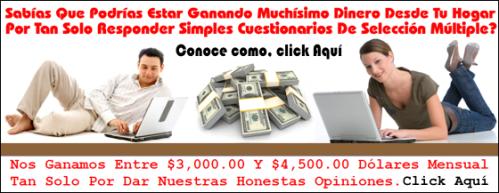 Encuestas pagas en español