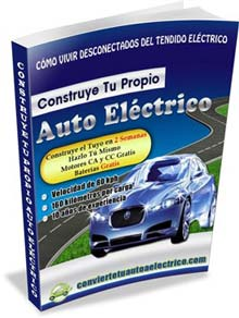 Autos electricos como construir un automovil a electricidad