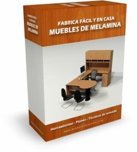 Como hacer muebles de melamina. PDF descargar
